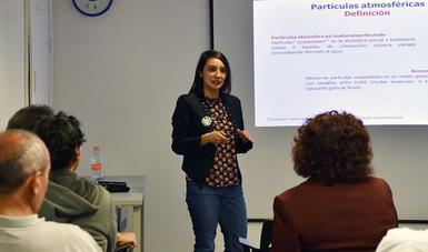 Conferencia sobre medición de partículas submicrométricas