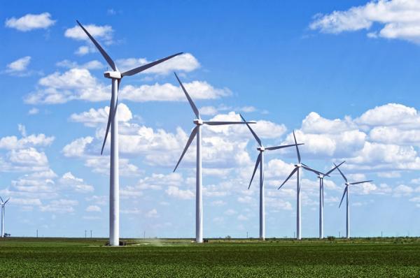 energía eólica, con viento a favor
