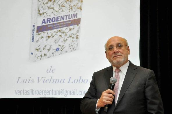 Argentum, novela de Luis Vielma