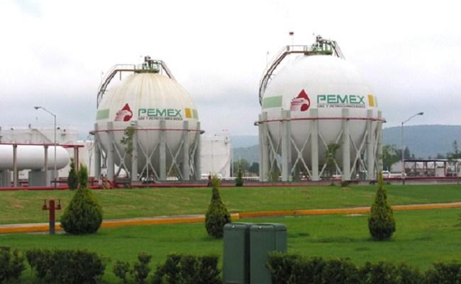 Baja producción de Gas Natural de Pemex