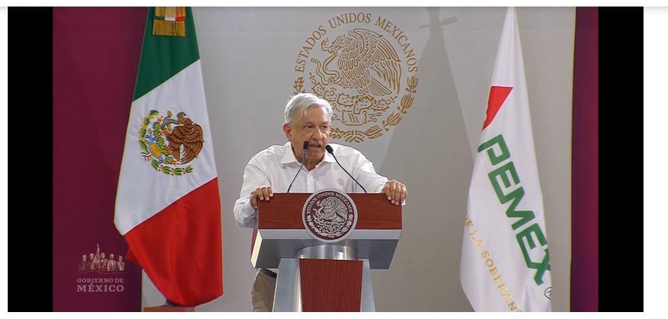 AMLO resalta 3 puntos de la estrategia de Pemex