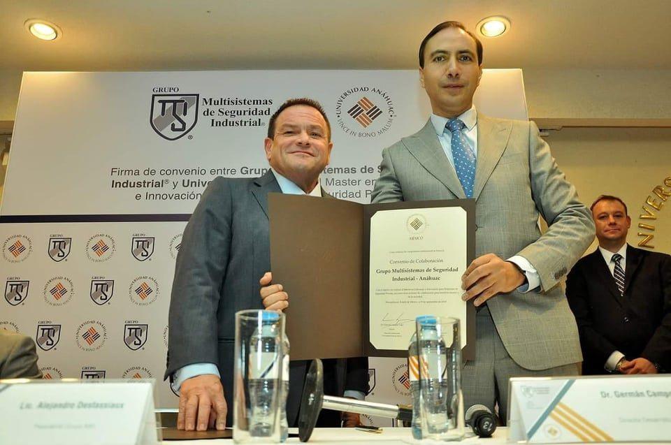 Alejandro Desfassiaux, presidente de GMSI, refrendó su compromiso con la capacitación y su apuesta por la innovación y eficiencia.
