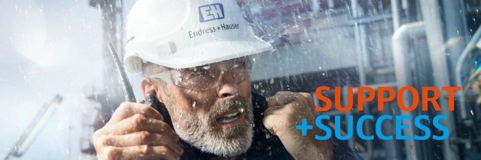 Endress+Hauser, líder mundial en instrumentación de procesos.
