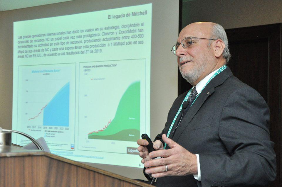 Luis Vielma Lobo señaló que México tiene potencial en el tema de los recursos no convencionales