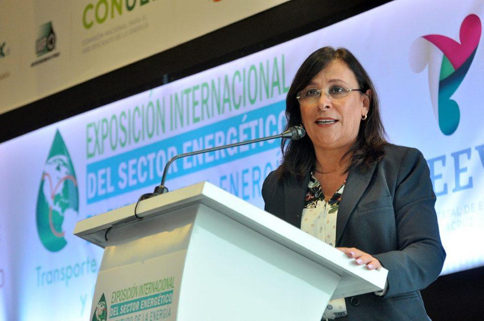 Rocío Nahle inaugura Expo Internacional del Sector Energético