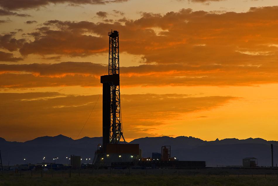 Fracking en Estados Unidos, afectado por la crisis.