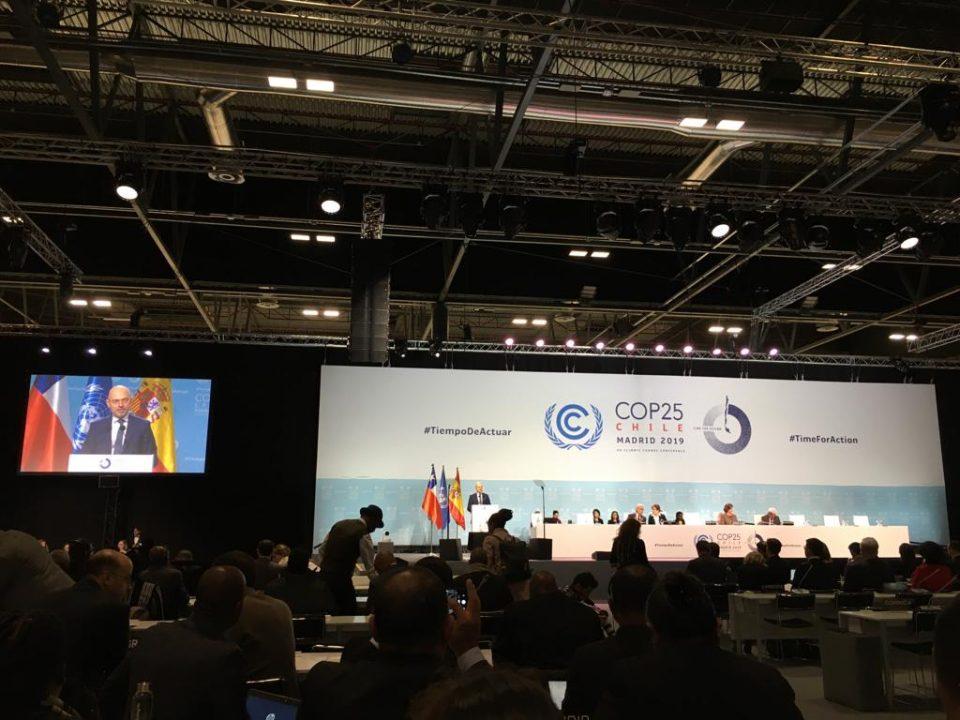 México participa en el COP25 por el cambio climático