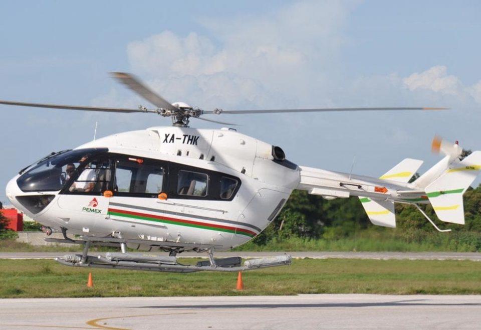 Pemex subastará helicóptero de 9 mdd