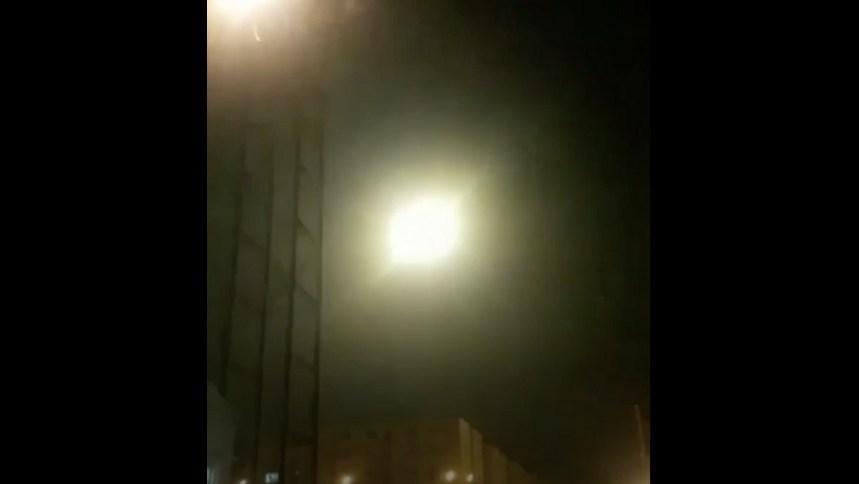 NYT muestra video del impacto de misil a avión en Irán