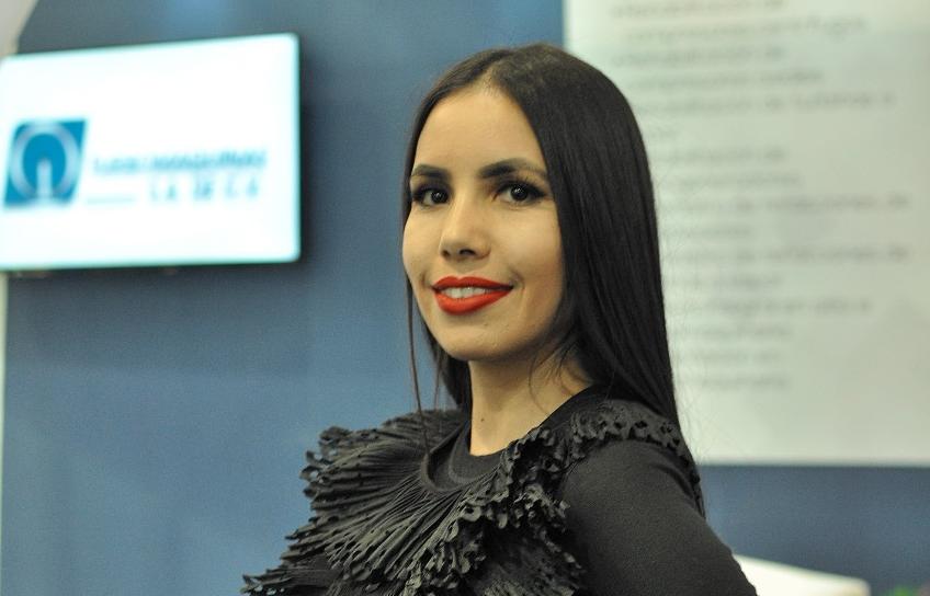 Cecilia Rodríguez, coordinadora de marketing de Turbomaquinas