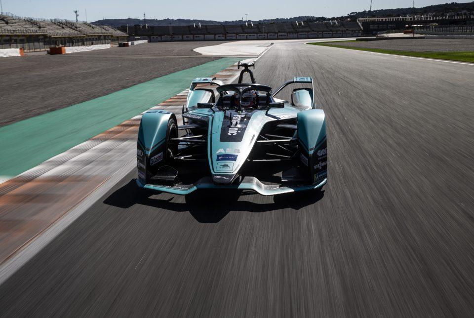 Automóvil Panasonic Jaguar en E-Prix 2020