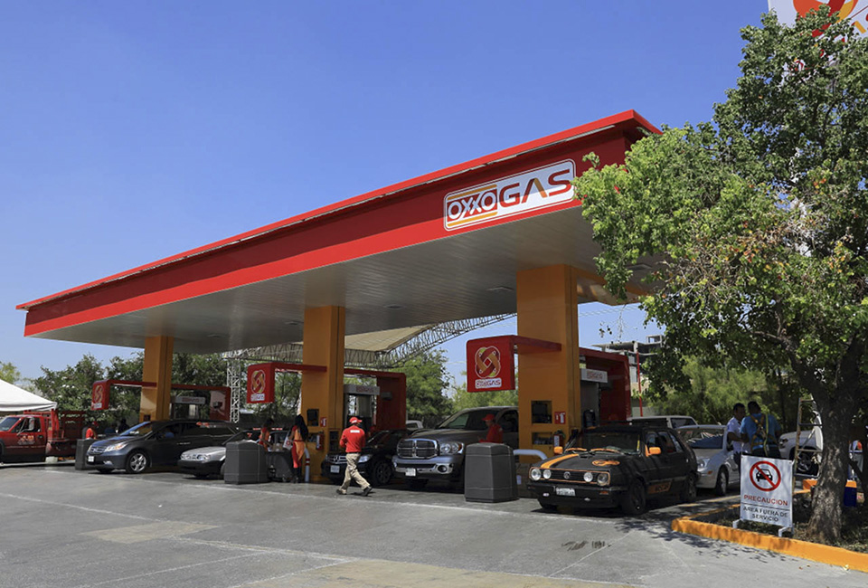 Estación de servicio de Oxxo Gas