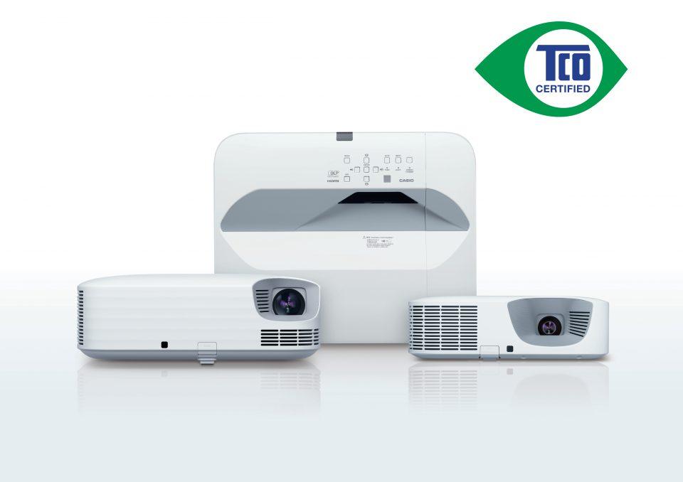 Proyectores Casio reciben certificación TCO