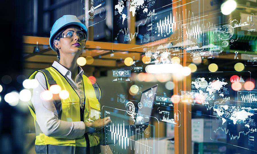 Mujeres en la industria