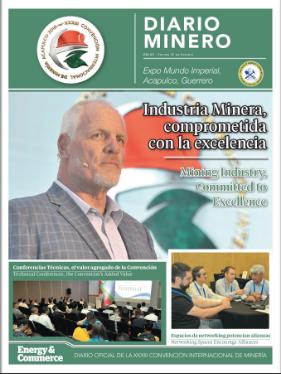 Diario Minero 2019 Día 3 - Online. Consulta las noticias y reflexiones más importantes de la Convención Internacional de Minería 2019