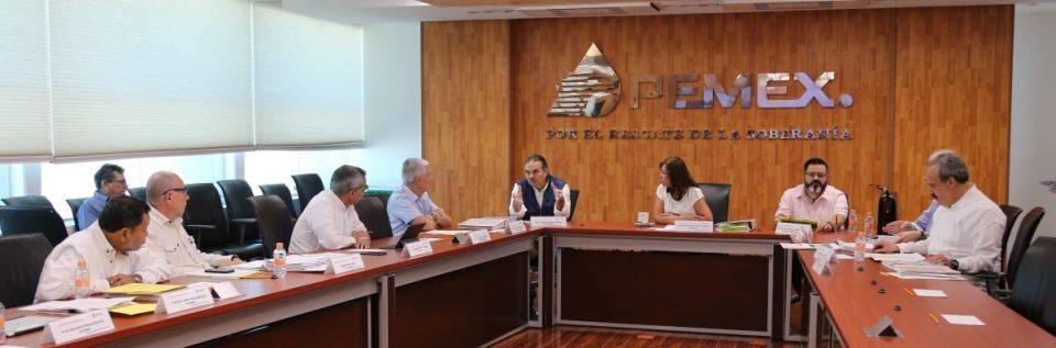 Consejo de administración de Pemex sesiona en Campeche