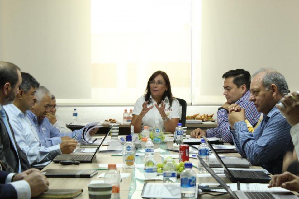 Nahle encabeza reunión de avances en refinería de Dos Bocas