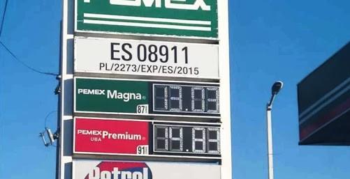 Precio de gasolina a menos de 13 pesos en 23 estados: Profeco