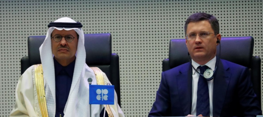 OPEP y Rusia estudian extender recorte hasta 2021