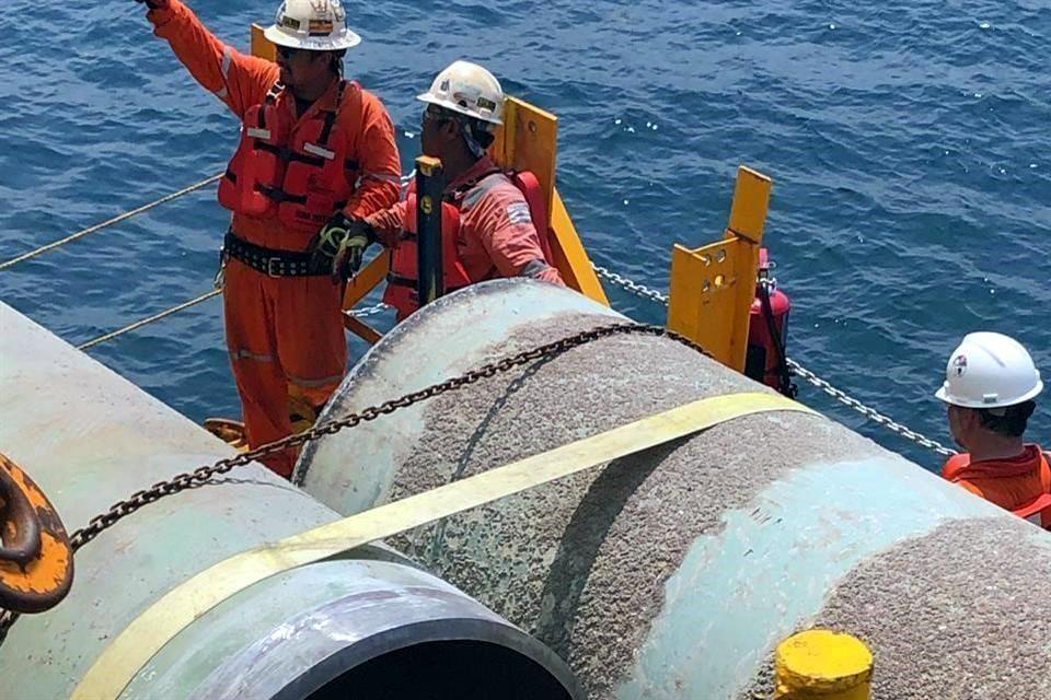 Aspectos para mejorar obras de infraestructura marina en Pemex