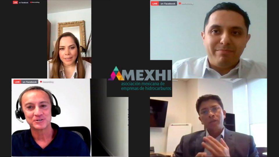 Foro de Amexhi sobre la responsabilidad social de las empresas petroleras en México.