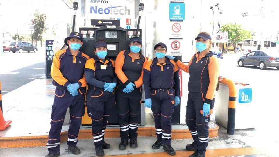 Repsol invierte tres millones de pesos para proteger a sus empleados del COVID19