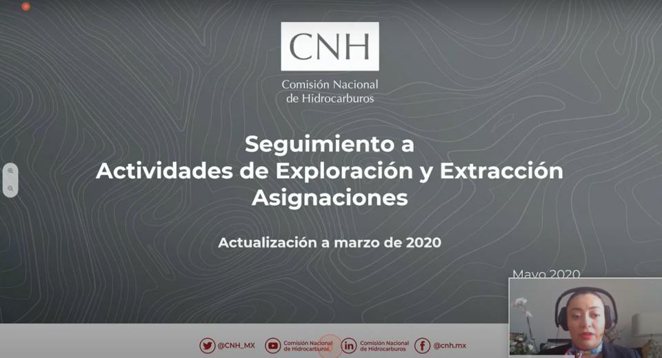CNH informa que inversiones crecieron para exploración y extracción, pero los resultados no sufrieron cambios significativos