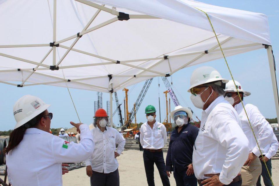 Avanza construcción de Refinería de Dos Bocas: Sener