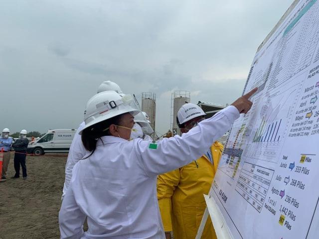 Avanza contrucción de Refinería de Dos Bocas: Nahle