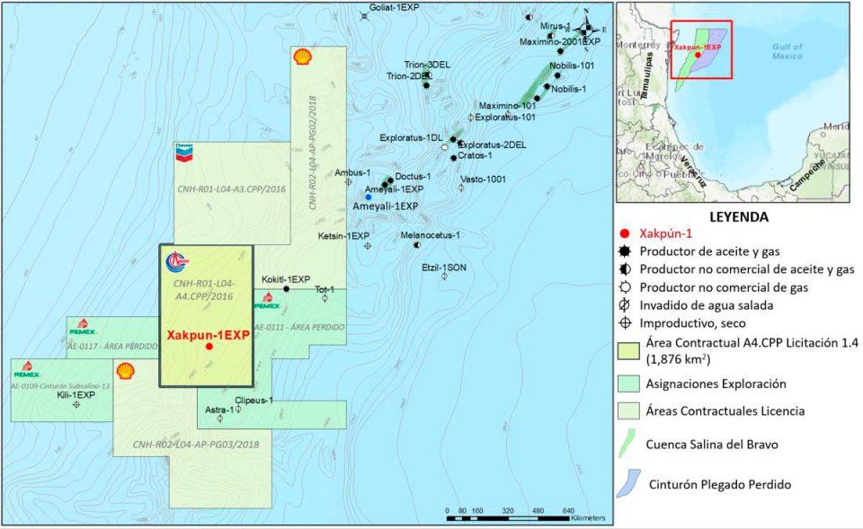 CNOOC invertirá 96.2 mdd en aguas profundas de México