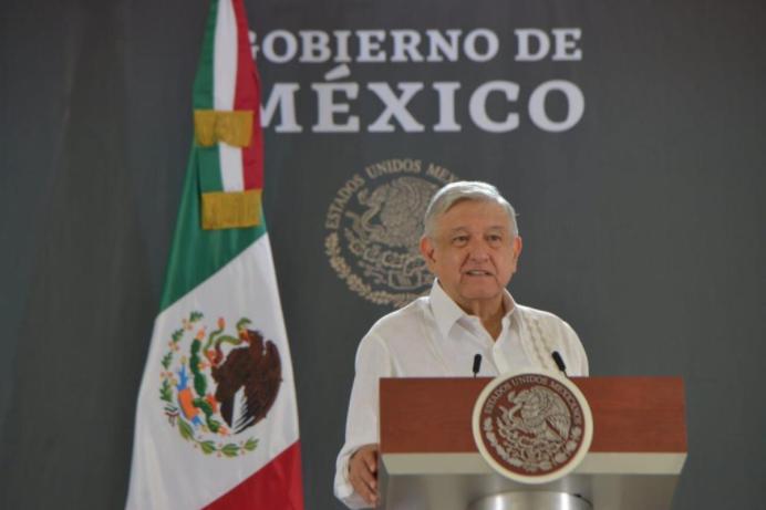 En la primera conferencia de prensa de la nueva normalidad, AMLO habló de la economía nacional.
