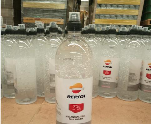 Repsol dona material médico para protección de COVID-19