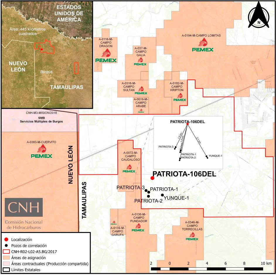 CNH aprueba a Pantera E&P perforación de 2 pozos