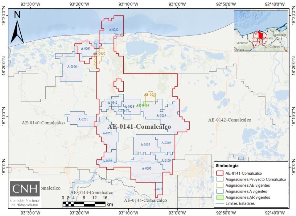 CNH aprueba exploración de Pemex en Comalcalco