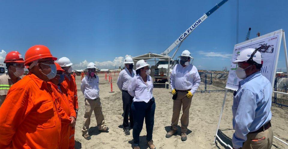 Avanza refinería de Dos Bocas: Nahle