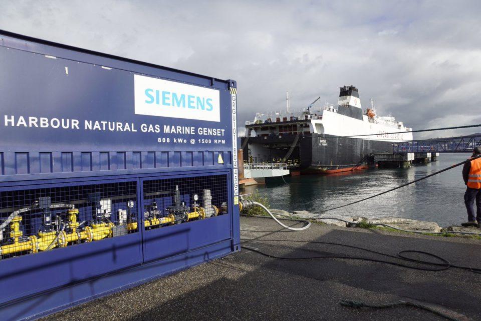 Siemens y Total van por GNL descarbonizado