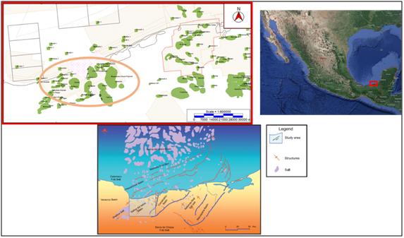 Estudio multidisciplinario en la cuenca Salina del Istmo