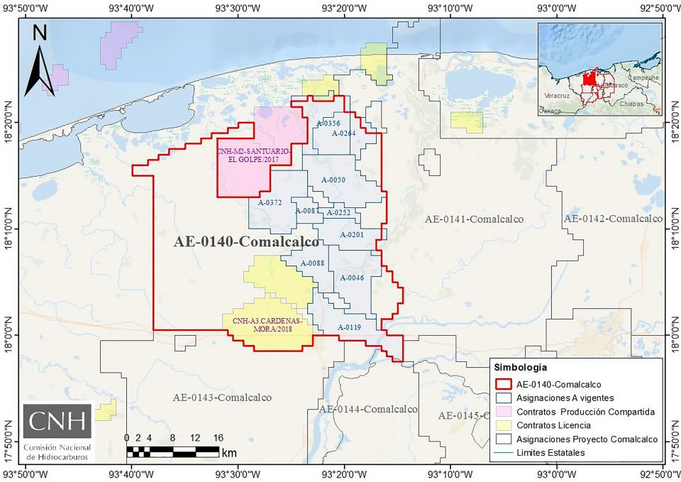 CNH aprueba a Pemex plan de exploración Comalcalco