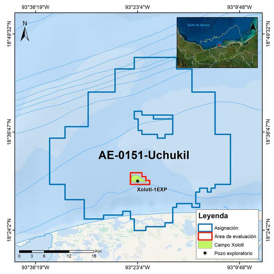 Pemex invertirá 63.9 mdd para evaluar campo Xolotl