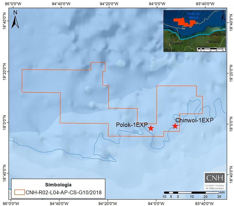 CNH ratifica descubrimiento de tres yacimientos