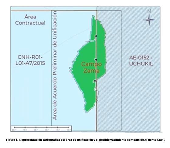 Sener instruye a Pemex y Talos Energy unificar yacimiento Zama