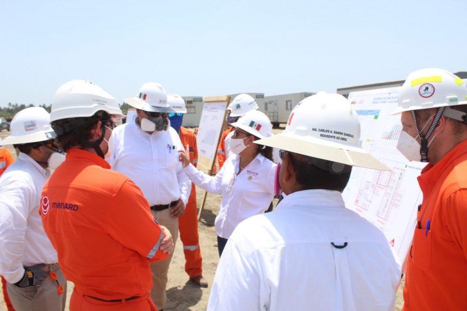 Refinería de Dos Bocas avanza con profesionalismo: Nahle