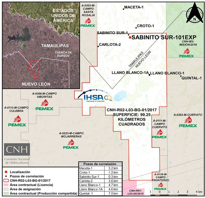 Iberoamericana de Hidrocarburos invertirá 6.6 mdd en Tamaulipas