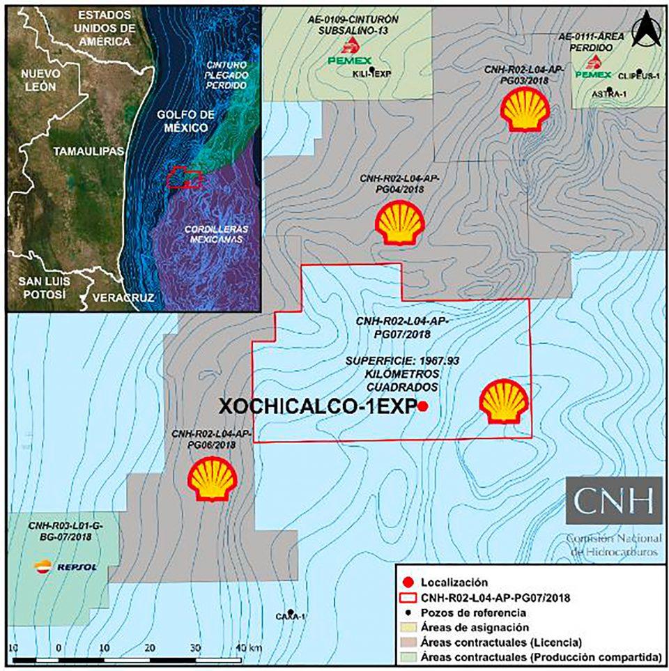 Shell invertirá 117.2 mdd en agua ultra profundas
