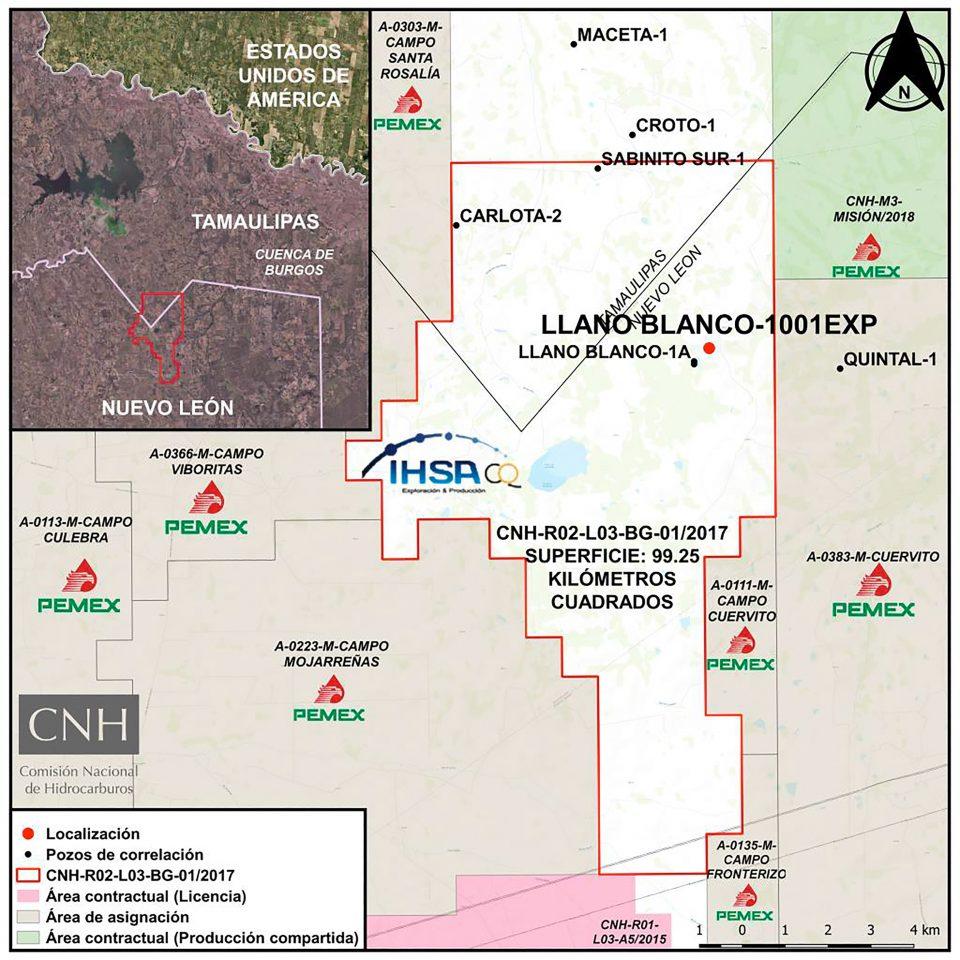 Iberoamericana de Hidrocarburos invertirá 6.1 mdd en Llano Blanco
