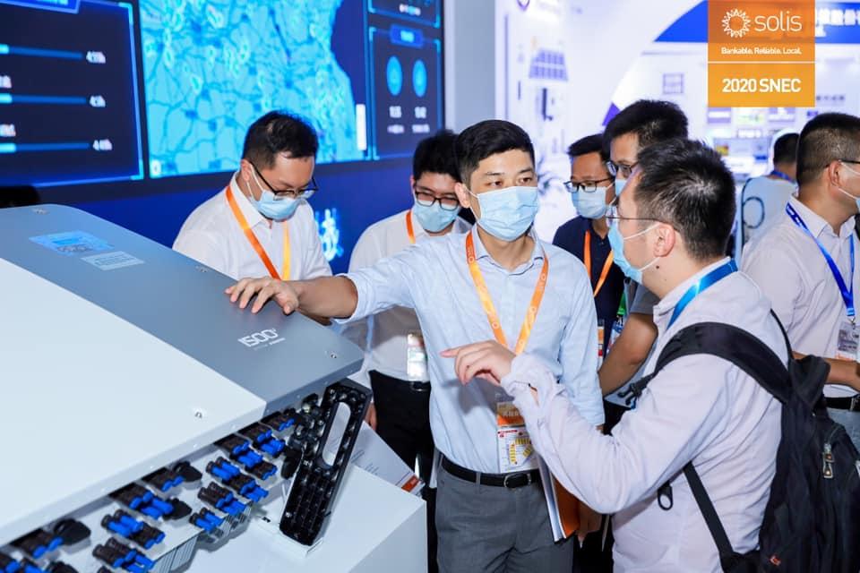 Ginlong Solis presenta innovaciones en Feria Solar SNEC 2020