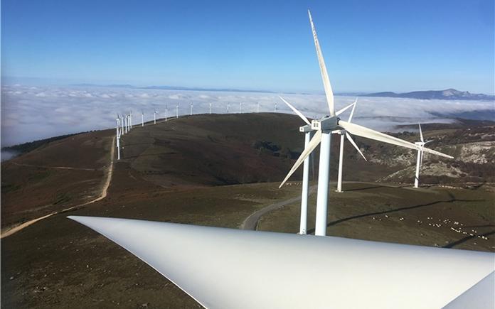 Instalación de energía eólica logra récord en 2020