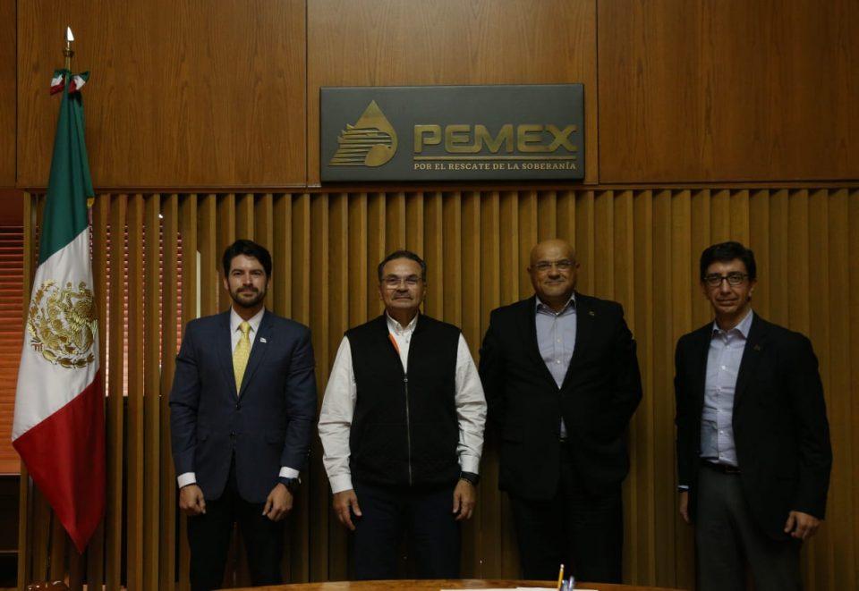 Pemex y Eni refrendan compromiso de colaboración