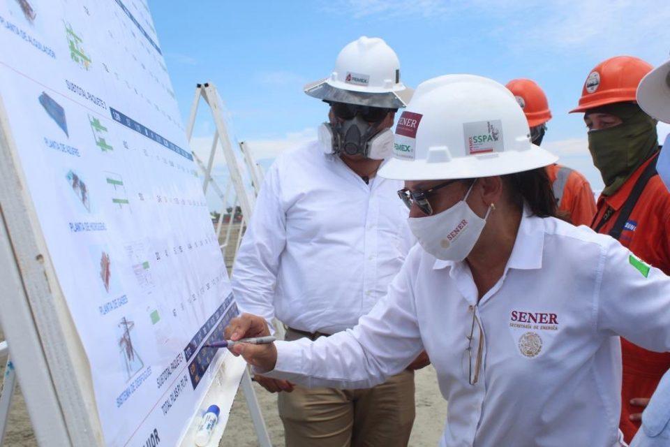 Nahle reanuda supervisión en Dos Bocas