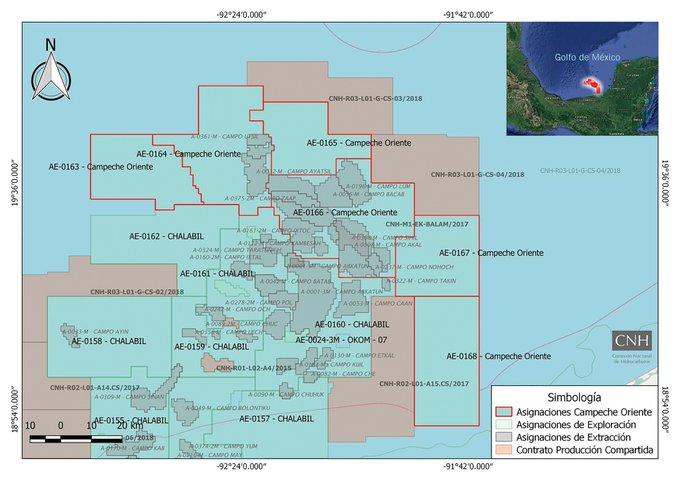 CNH aprueba 92% de los planes de exploración de Pemex